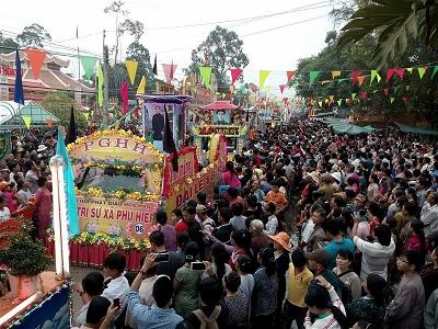 255 Hoahao Buddhist Celebration in Hoa Hao Holy Land 2016